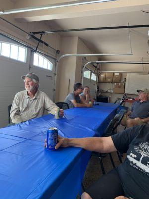 Club members visiting