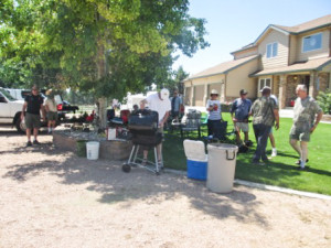 Annual PVHRC Picnic at the Heldt's place